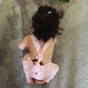Salopette enfant rose