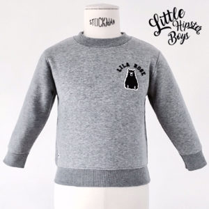 Sweatshirt personnalisé - LittleHipsterBoys