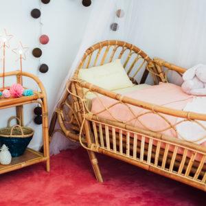 Lit baby / kid avec barrières amovibles June - Saudara Collections