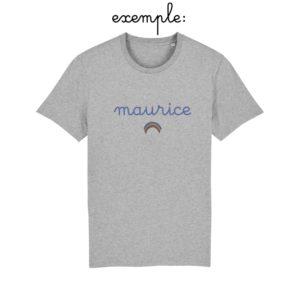 Tee-shirt arc-en-ciel personnalisé KIDS - Join The Gang • By Coeur De Beurre