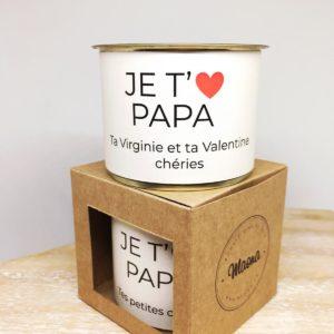 Bougie Je t'aime Papa - Maona