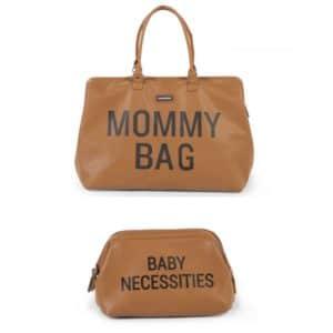 Duo Mommy bag + Trousse de toilette Baby Necessities Camel - Childhome