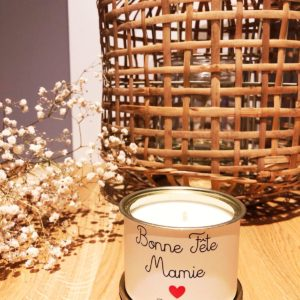 Bougie Bonne fête Mamie Mamy Manou Grand-mère Nanny Mamou Mamita mamo - Maona (Copie)