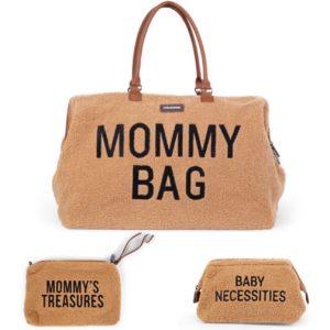 Trio Mommy bag + Pochette Mommy's treasures + Trousse de toilette Baby Necessities Teddy - Childhome