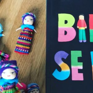 Mini poupée anti angoisses avec son livre Billy se bile