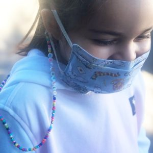Cordon Grigri masque lunettes personnalisé KIDS