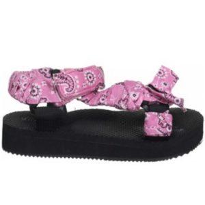 Sandales bandana rose - Happy Feet