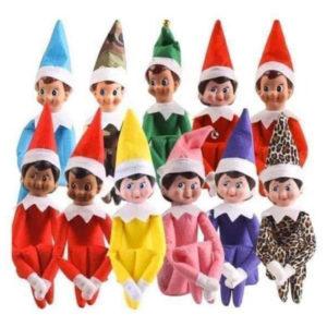 The Elf ou Elfie on the shelf - Une tradition de Noël