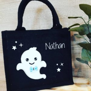 Petit sac Halloween Ghost personnalisé